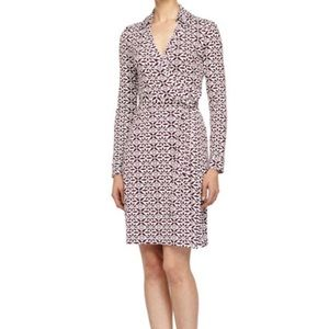 Diane Von Furstenburg New Julian Two Wrap Dress
